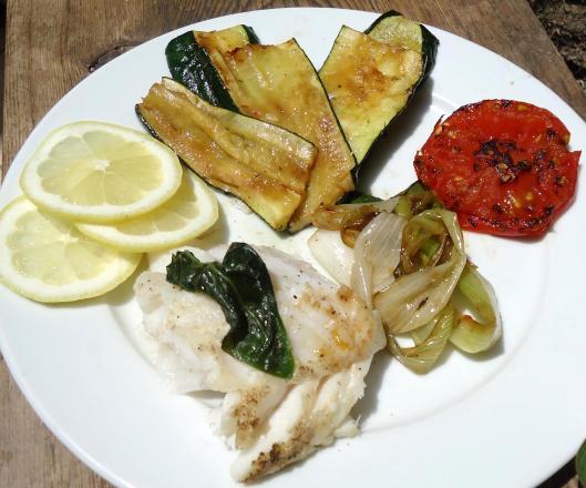 cabillaud-légumes-plancha