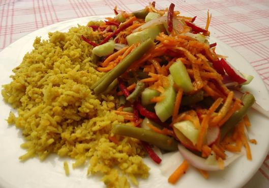 Riz-Beendhi-salade