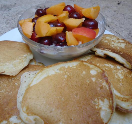 pancakes-lait ribot-blog Narbonne-blogeueuse Narbonne