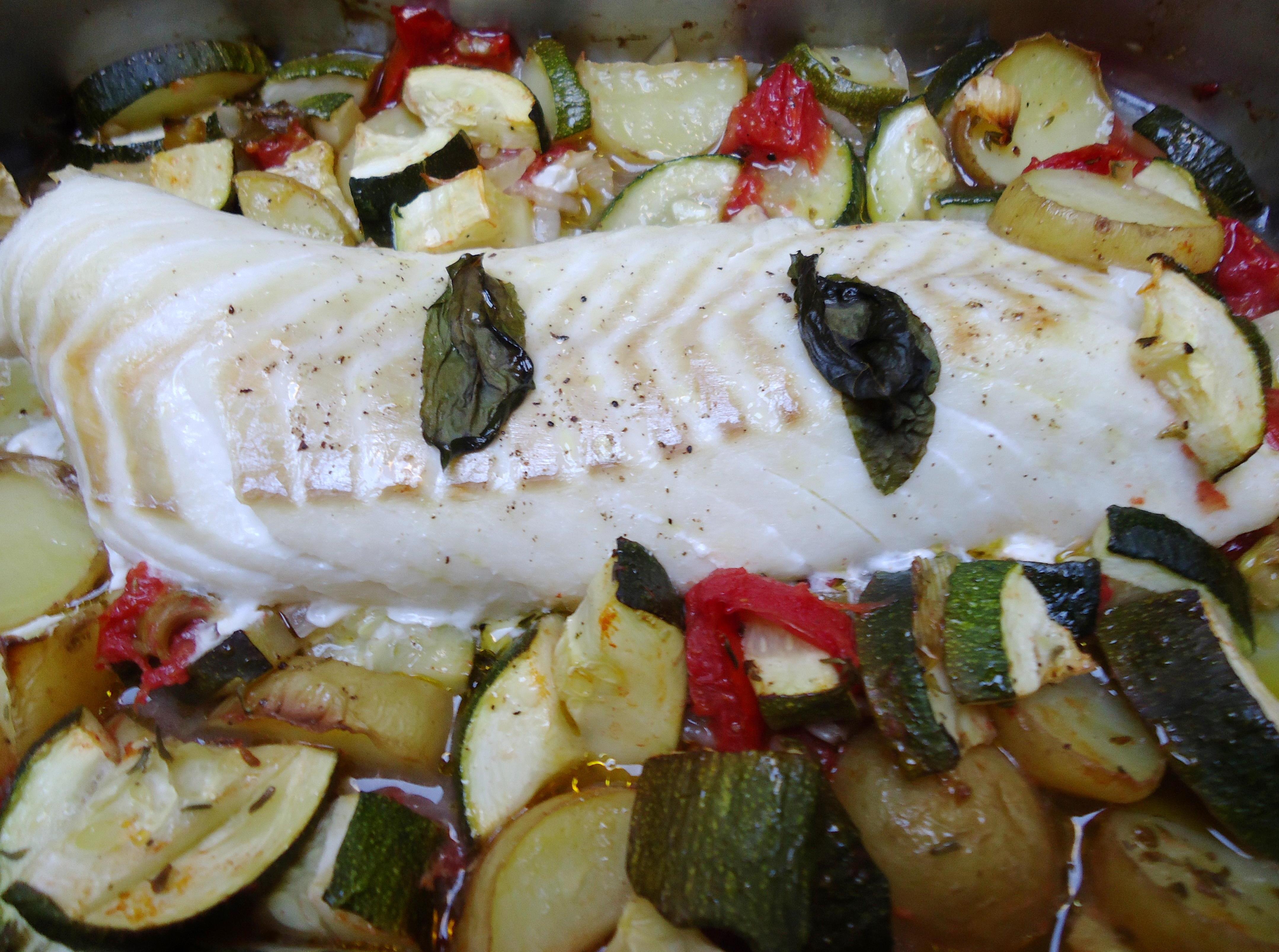 Menu en combinaisons alimentaires 12 dos de cabillaud - Cuisiner le cabillaud au four ...