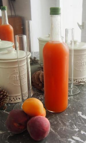 sirop-pêche-abricot