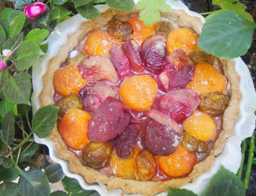 tarte-végan-fruits