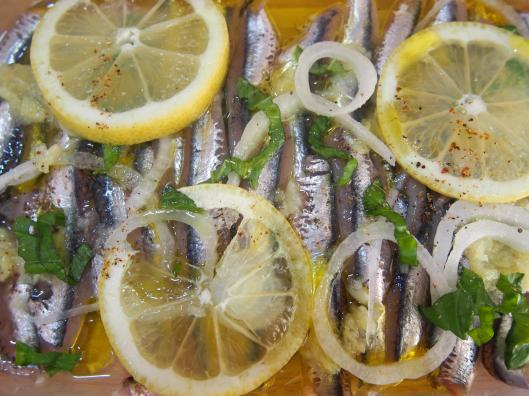 anchois-gingembre-ail