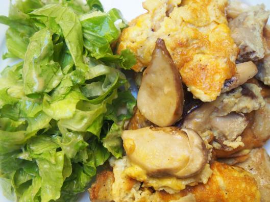 omelette-cèpes-combinaisons-alimentaires