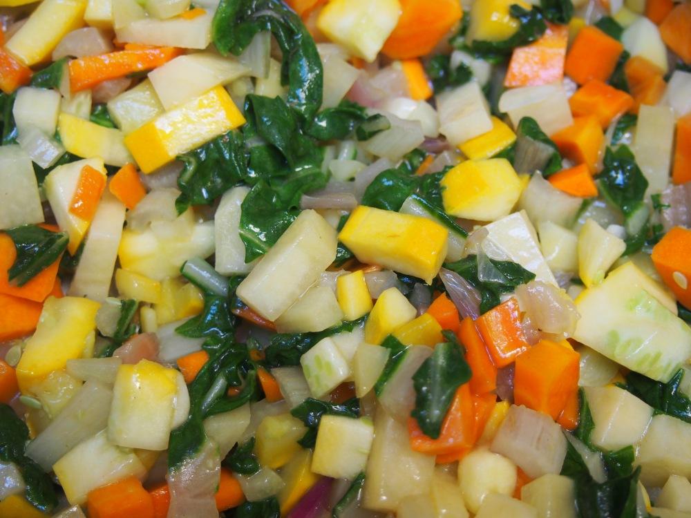 Manger des légumes bio, tout le monde s'y met même Obi-Wan Canoli : soupe au pistou végan et une petite vidéo en bonus ! (4/6)
