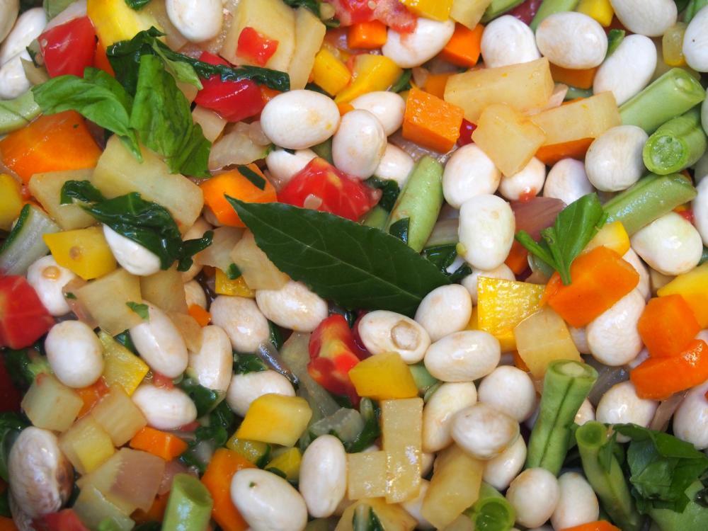 Manger des légumes bio, tout le monde s'y met même Obi-Wan Canoli : soupe au pistou végan et une petite vidéo en bonus ! (3/6)