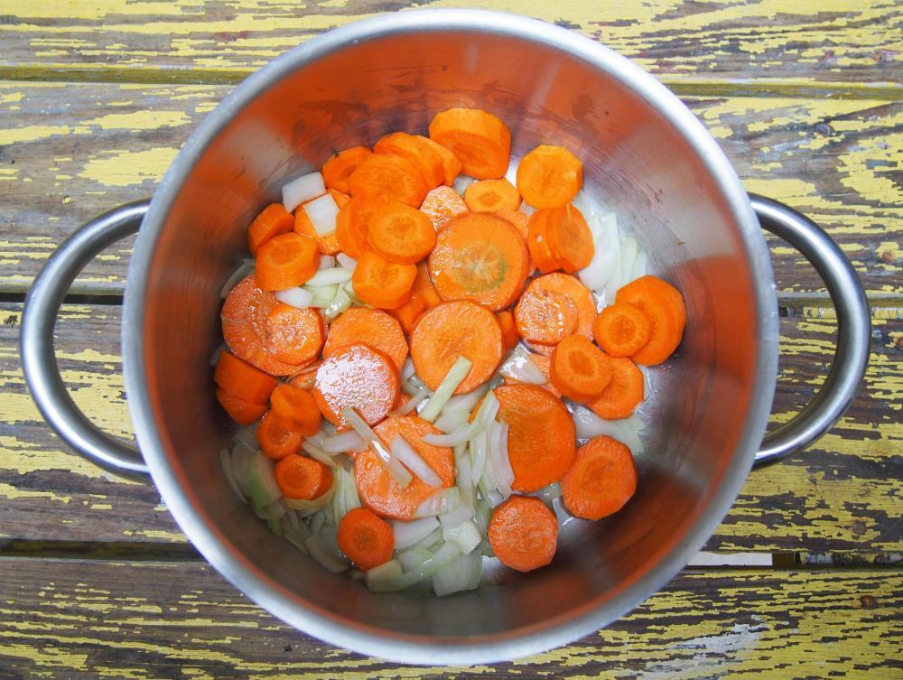 Lentilles à ma façon et comment réaliser une belle assiette végane, sans gluten, sans lactose (3/6)