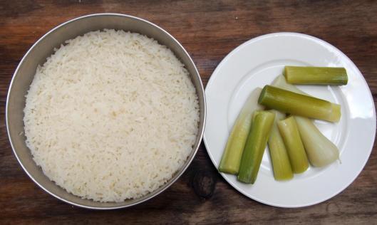 riz-poireau