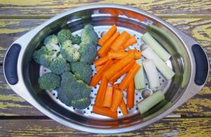 brocolis-carotte-poireau-cuisson vapeur