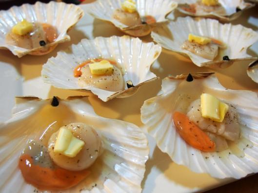 coquille saint jacques-Noilly Prat