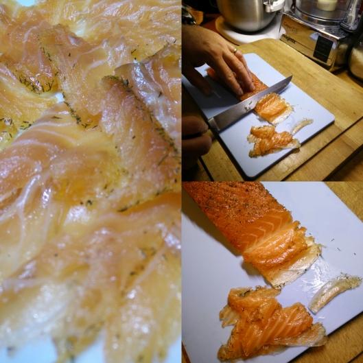 saumon-gravlax-sans gluten-blog Narbonne-blogueuse Narbonne-repas de fête