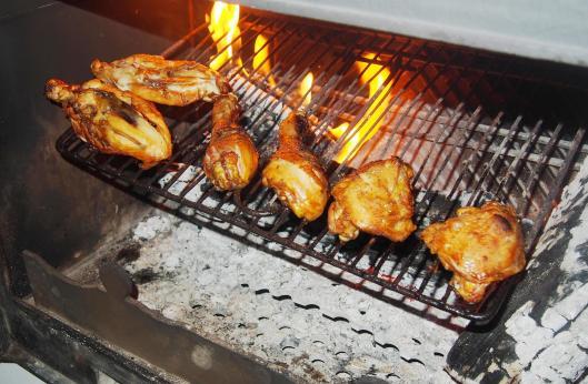poulet-cheminée