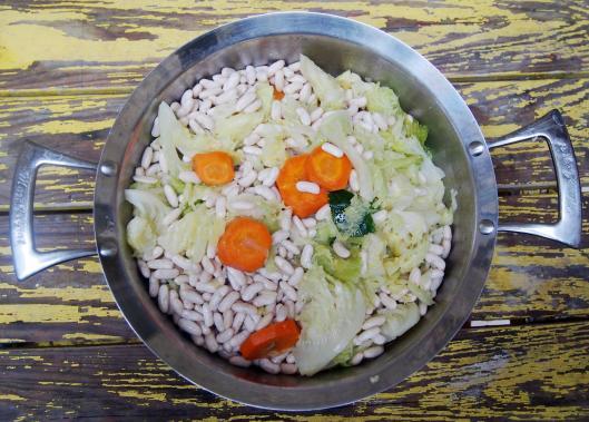 haricots blancs-légumes-végan-sans gluten
