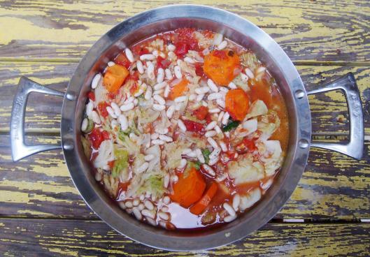 haricots blancs-légumes-sans gluten-végan