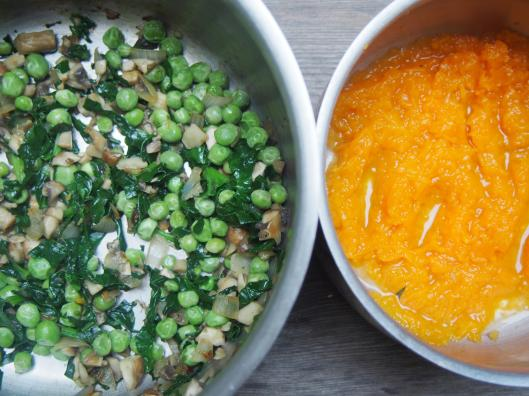galette-farine pois chiche-légumes-curry-sans gluten-végan