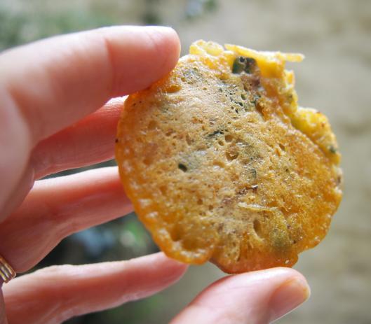 crêpe salée-galette-farine pois chiche-légume-curry-Roellinger-végan-sans gluten
