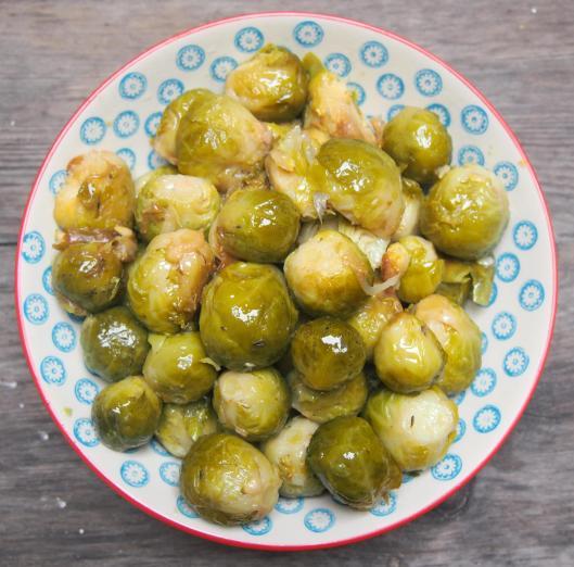 cgoux de Bruxelles-graisse de canard-huile d'olive