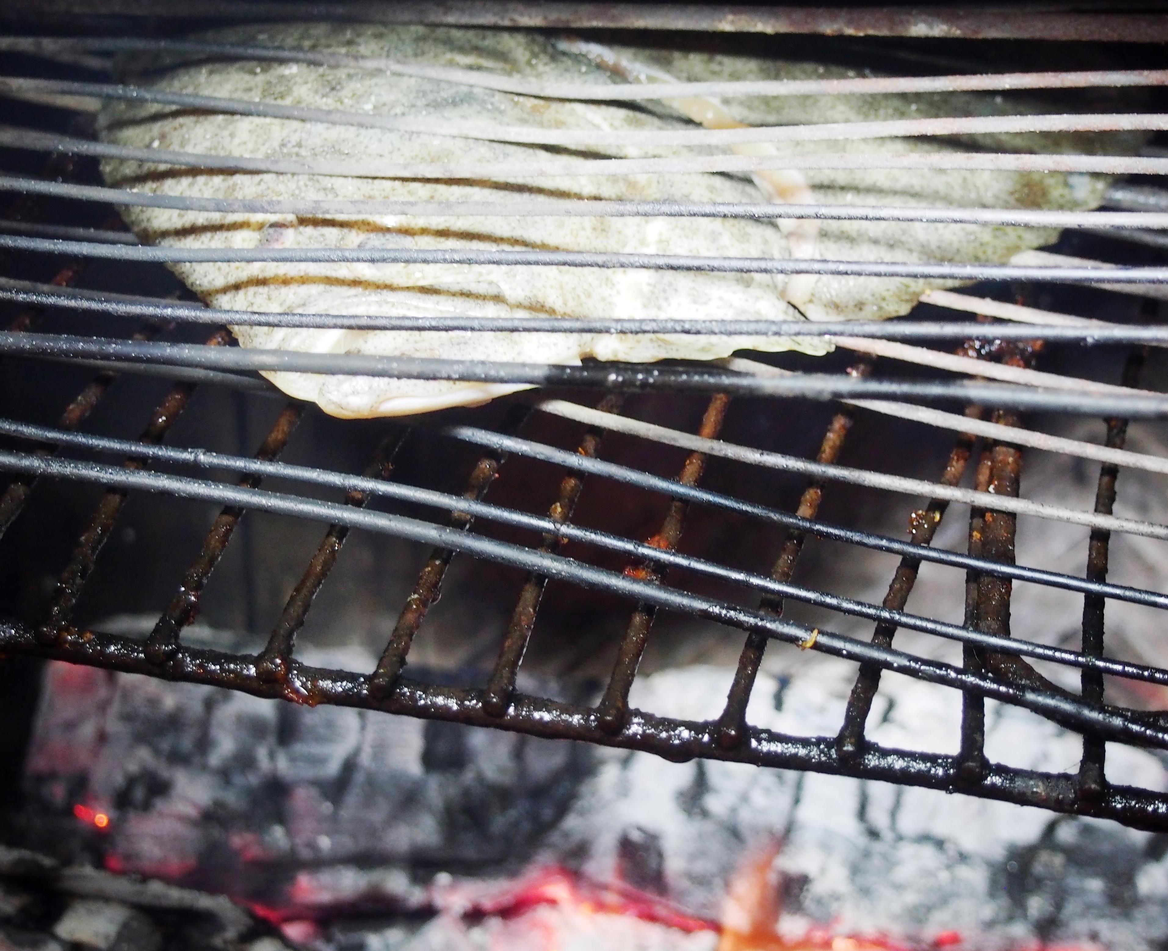 Turbot grill sauce b arnaise et l gumes la vapeur cuisiner en paix - Recette de turbot grille ...