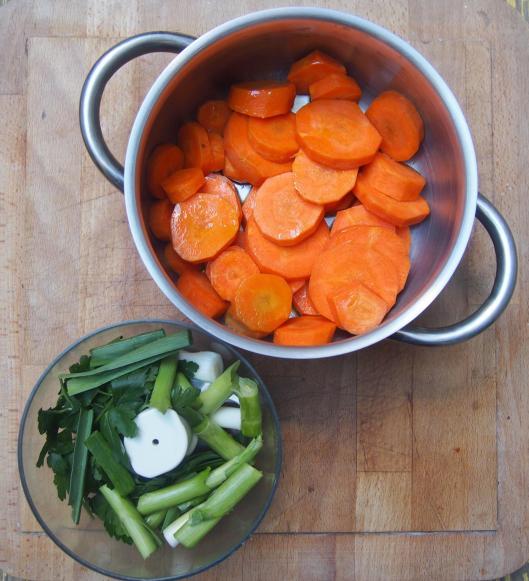 Carotte-aillet-curcuma-sans gluten-végan-Halles de Narbonne-blogueuse de Narbonne