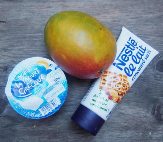 Crème mangue-sans gluten-sans œuf-Narbonne-blog de Narbonne-blogueuse de Narbonne-combinaisons alimentaires