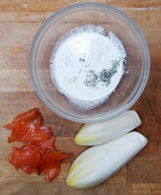 Endive-saumon Gravlax-sans gluten-Narbonne-blog Narbonne-blogueuse Narbonne-combinaisons alimentaires-Carole Caillaba Suchet