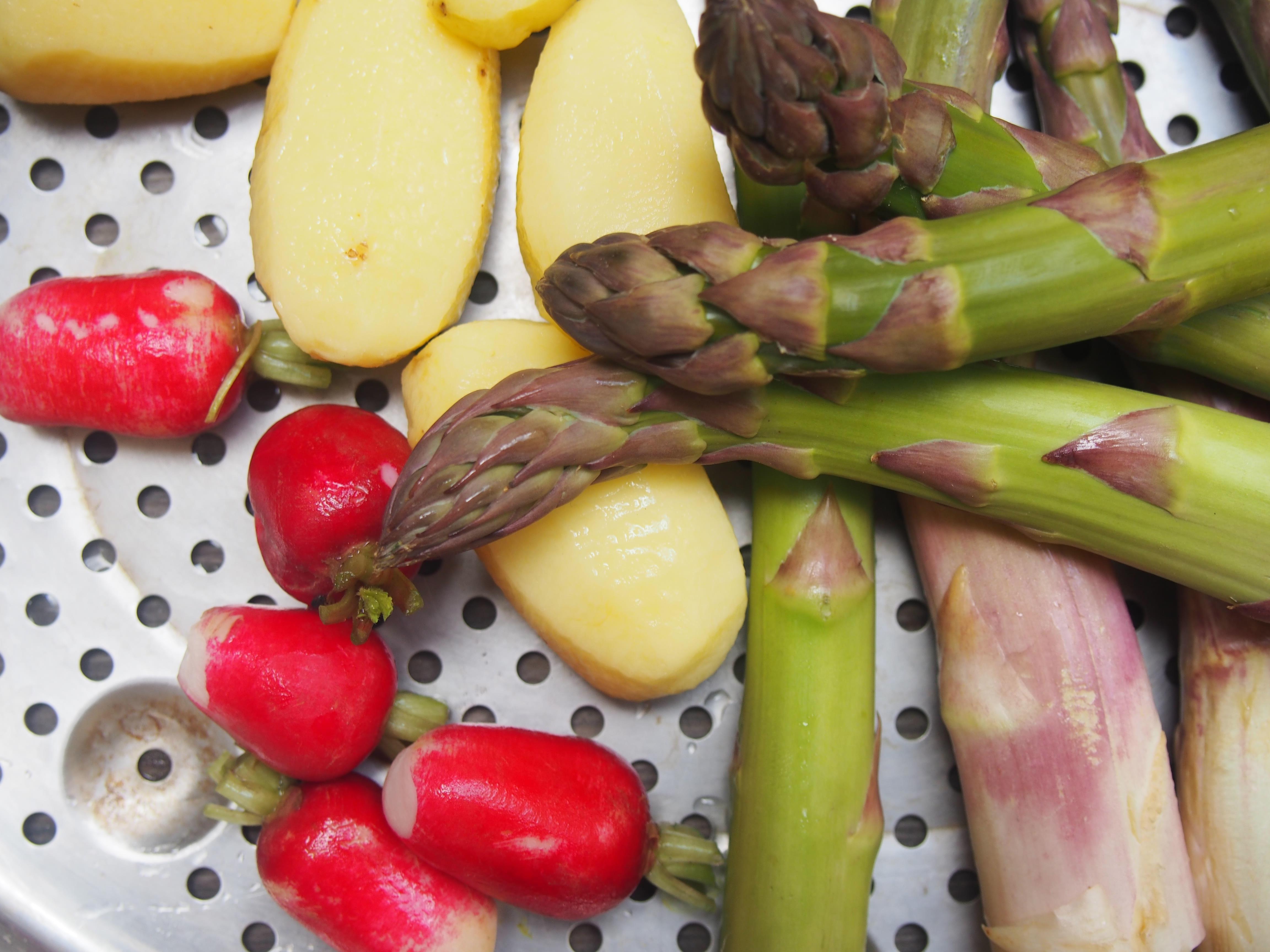 Filets de maquereau aux l gumes de printemps cuisiner en paix - Cuisiner filet de maquereau ...