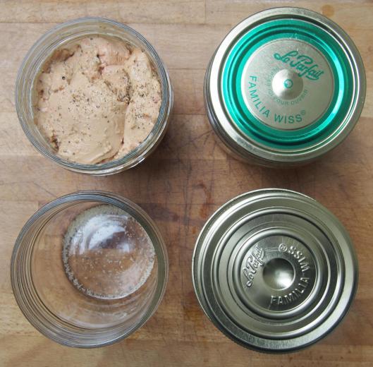 : foie gras-conserve de foie gras-Chef Simon-blog Narbonne-blogueuse Narbonne-Carole Caillaba Suchet-sans gluten
