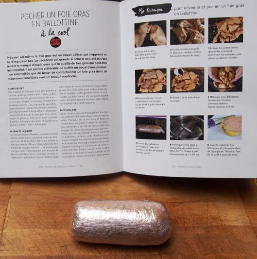 foie gras-canard-ballottine-Chef Simon-blog Narbonne-blogueuse Narbonne-sans gluten