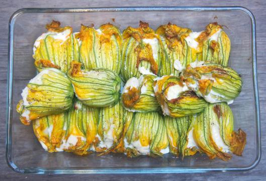 fleur de courgette-merlan-asperge-courgette-cuisine de Provence-Catherine Quévremont-sans gluten-curry-blog Narbonne-blogueuse Narbonne-Narbonne