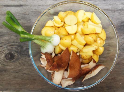 pomme de terre nouvelle-pommes de terre sautées- shiikaté-oignon cébette-blog Narbonne-Narbonne-blogueuse Narbonne-Carole Caillaba Suchet