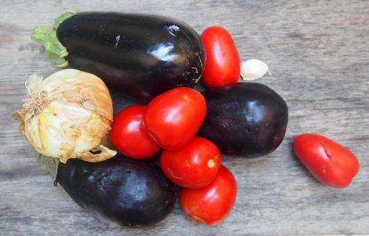 compotée-aubergine-tomate-sans gluten-végan-accompagnement-blog Narbonne-blogueuse Narbonne-Carole Caillaba Suchet