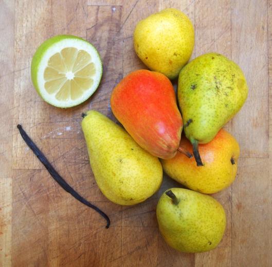 confiture de poire-vanille-citron-sans gluten-végan-blog Narbonne-blogueuse Narbonne-Carole Caillaba Suchet