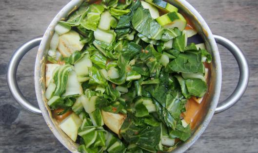 sauté de porc-porc-crème coco-curry-légumes-sans gluten-blog Narbonne-blogueuse Narbonne