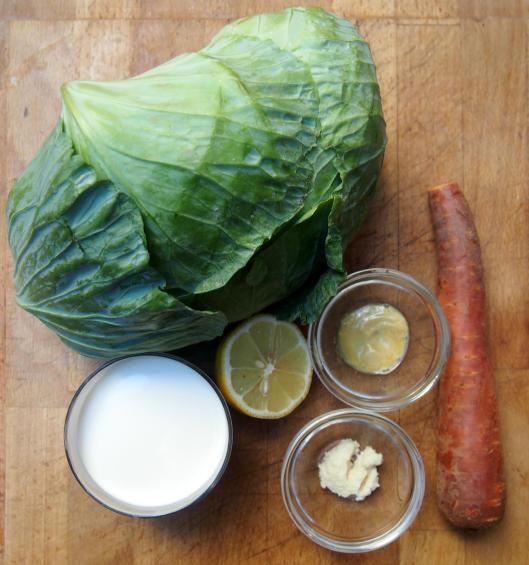 salade-chou-carotte-raifort-sans gluten-blog Narbonne-blogueuse Narbonne
