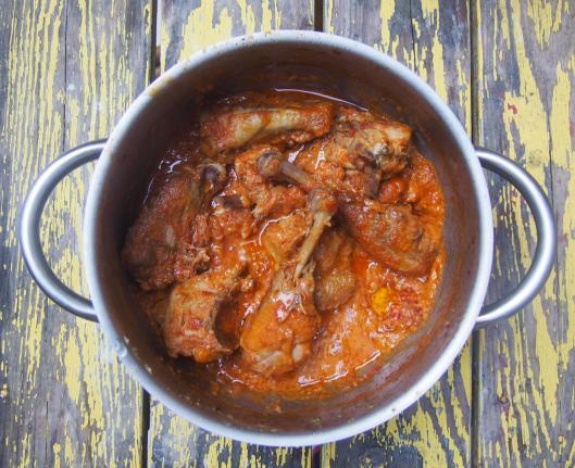 : poulet coco-curry-caloupilé-sans gluten-crème de coco-combinaisons alimentaires-blog Narbonne-blogueuse Narbonne