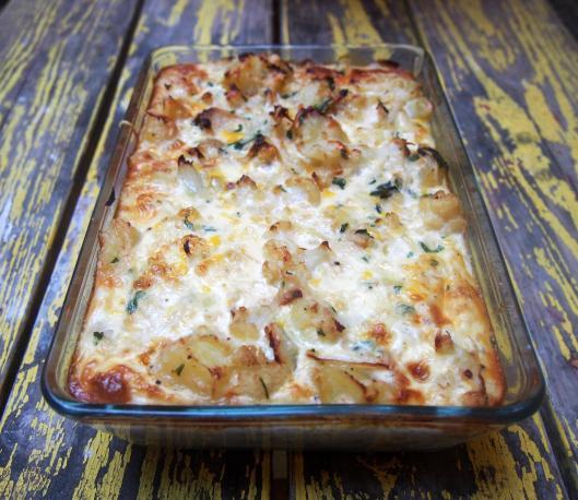 chou fleur-gratin-œuf-lait-persillade-sans gluten-sans amidon-combinaisons alimentaires-blog Narbonne-blogueuse Narbonne