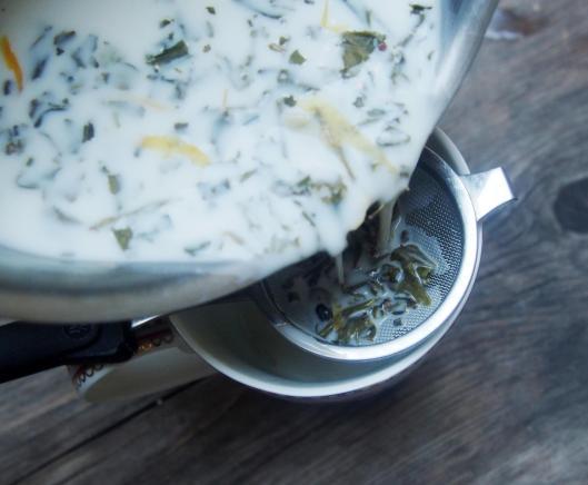 chocolat chaud végan-thé gourmand-thé vert-lait d'amande-Namasthé-La Note Sucrée-blog Narbonne-blogueuse Narbonne