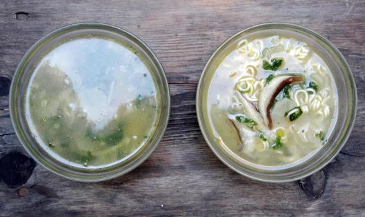 bouillon-soupe-daikon-shiitaké-kale-sans gluten-végan-blog Narbonne-blogueuse Narbonne