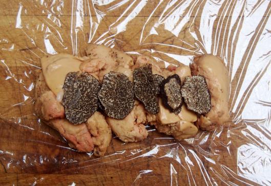 foie gras-canard-truffe-ballottine-blog Narbonne-blogueuse Narbonne-sans gluten