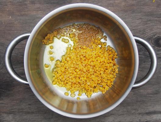 : curry de potiron- toor dhal-pois d'angole décortiqué-sans gluten-végan-blog Narbonne-blogueuse Narbonne