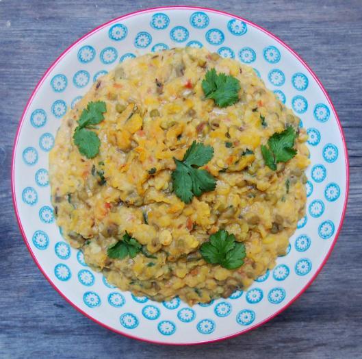 curry de lentille-daal- daal Panchmela- lentilles roses-malka masoor- lentilles de pois chiche-chana daal- lentilles jaunes-dbuli urad daal- lentilles blanche-arbar daal- lentilles vertes-dbuli moong daal-végan-sans gluten-blog Narbonne-blogueuse Narbonne