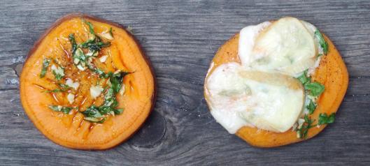 patate douce-persillade-écrasé-accompagnement-reblochon-sans gluten-blog Narbonne-blogueuse Narbonne