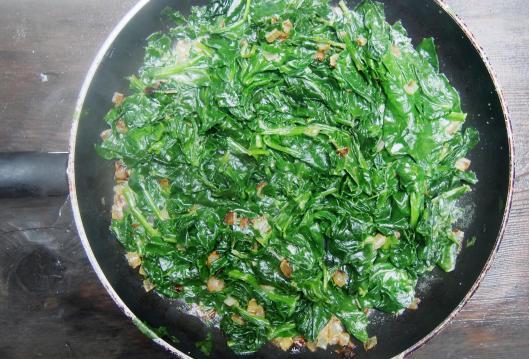 courge spaghetti-épinard-œuf mollet-sans gluten-blog Narbonne-blogueuse Narbonne