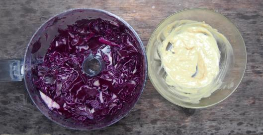 salade-chou rouge-salade de chou rouge-végan-sans gluten-entrée-accompagnement-blog Narbonne-blogueuse Narbonne