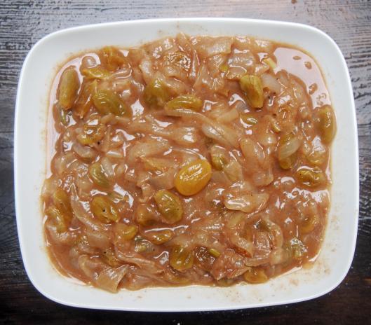 condiment-compotée d'oignons-accompagnement-couscous-végan-sans gluten-blog Narbonne-blogueuse Narbonne